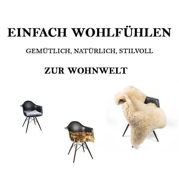 Hofbrucker Wohnwelt Fell Stuhlauflagen